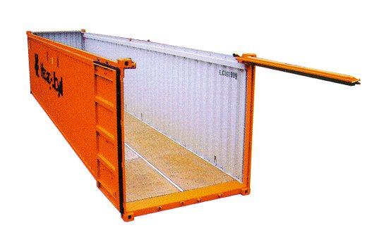 открытый контейнер